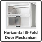 Shop for Horizontal Bi-Fold Door Mechanisms