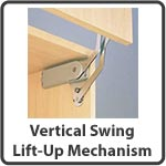Shop for Vertical Swing Lift-Up Mechanism