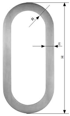SLIDING STAINLESS STEEL  DOOR HANDLE