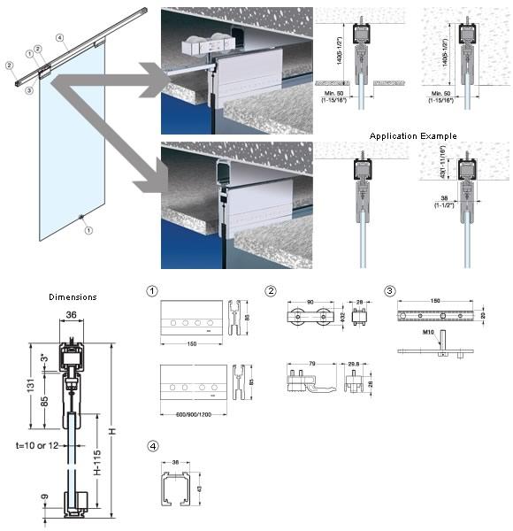Kspg 3936 150mm bracket for 10mm glass alema hardware additional information planetlyrics Gallery