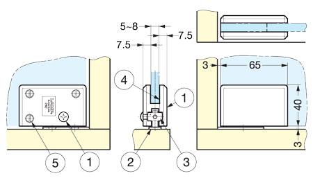 Xl gc04 c glass door pivot hinge alema hardware xl gc04 glass door pivot hinge planetlyrics Image collections