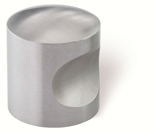 44-174 Siro Designs Stainless Steel - 30mm Knob in Fine Brushed Stainless Steel