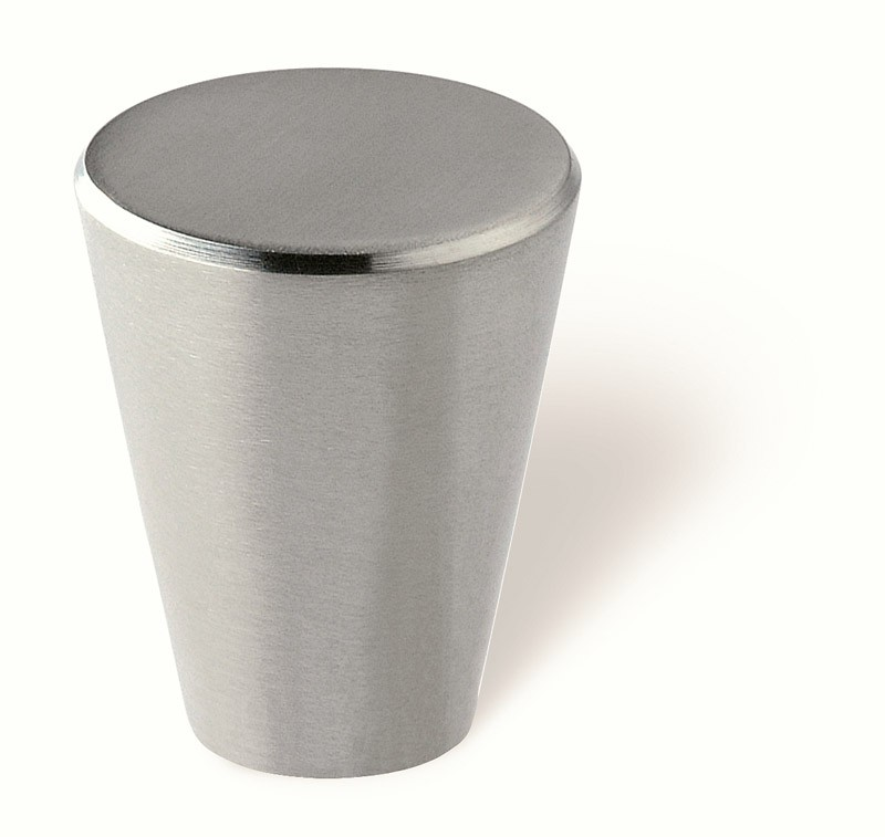 44-278 Siro Designs Stainless Steel - 24mm Knob in Fine Brushed Stainless Steel