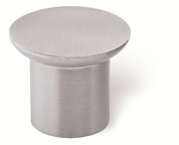 44-324 Siro Designs Stainless Steel - 30mm Knob in Fine Brushed Stainless Steel