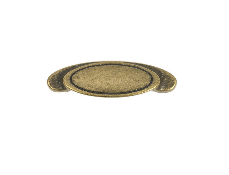52-146 Siro Designs Reno - 80mm Cup Pull in Antique Brass