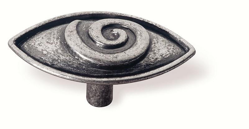 63-102 Siro Designs Ian Smith - 65mm Knob in Bright Antique Silver