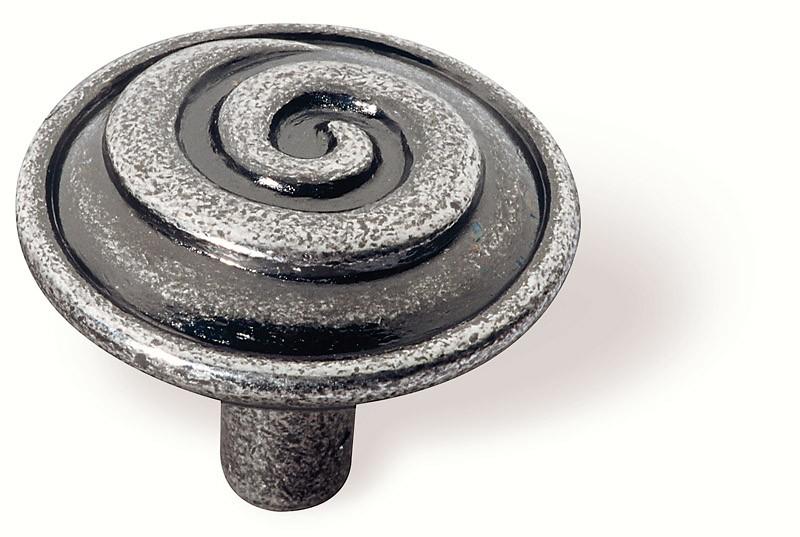 63-104 Siro Designs Ian Smith - 40mm Knob in Bright Antique Silver