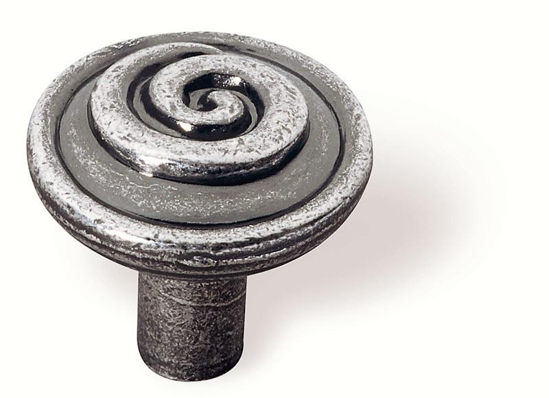 63-106 Siro Designs Ian Smith - 30mm Knob in Bright Antique Silver