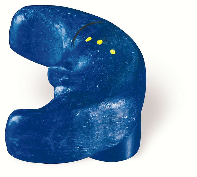 80-150 Siro Designs Fantasia - 47mm Knob in Blue