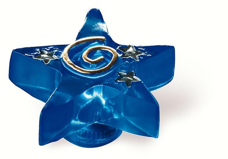 80-172 Siro Designs Fantasia - 49mm Knob in Blue