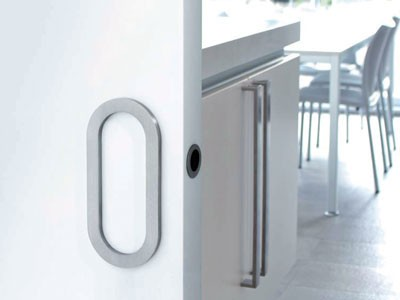 DSI-3020-85 SLIDING STAINLESS STEEL  DOOR HANDLE