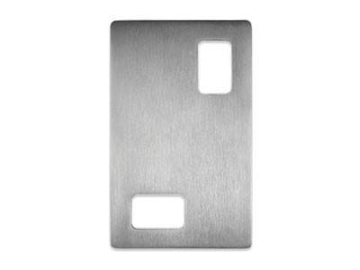 DSI-4040-85 SLIDING STAINLESS STEEL  DOOR HANDLE