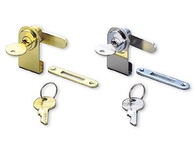 1100GL/PB GLASS DOOR LOCK
