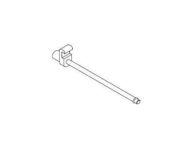 EX057-20 FLUQS hooks for glass panel 4mm