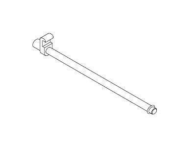 EX063-20 FLUQS hooks for glass panel 6mm