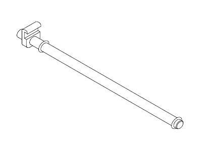EX068-20 FLUQS hooks for glass panel 9mm