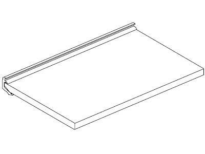 EX202-41 FLUQS shelf set