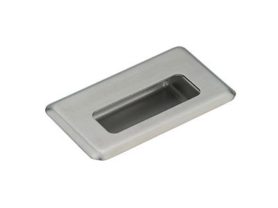 HH-FB-2/M STAINLESS STEEL RECESSED PULL MIRROR