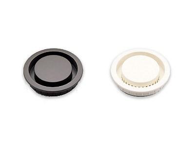 APM-4045/WHT PLASTIC VENTILATOR (MORTISE TYPE)