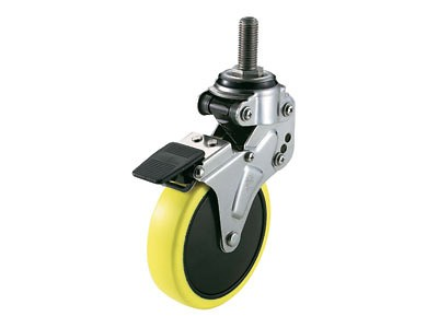 NPT-100SUE3 SHOCK ABSORBING CASTER (THREADED BOLT TYPE)
