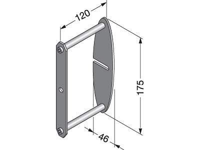 XL-US02-S008 Wall Mounting Bracket