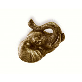 100-164 Siro Designs Impala - 75mm Knob in Antique Brass
