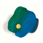 102-108 Siro Designs Kidzz - 57mm Knob in Blue Bunny