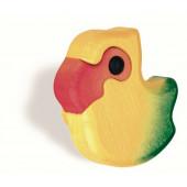 102-146 Siro Designs Kidzz - 65mm Knob in Yellow Parrot