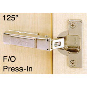 1058549 Clip-On 125 Degree Concealed Hinge – Full Overlay / Press-In
