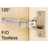 1063461 Clip-On 125 Degree Concealed Hinge – Full Overlay / Toolless