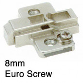 1071749 8mm Cam Height Adjustable Clip-On Mounting Plate – For Euro Screw