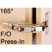 1073385 Clip-On 165 Degree Concealed Hinge – Full Overlay / Press-In