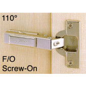 1073711 Clip-On 110 Degree Concealed Hinge – Full Overlay / Screw-On