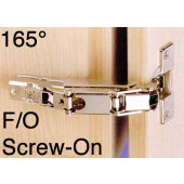 1076819 Clip-On 165 Degree Concealed Hinge – Full Overlay / Screw-On