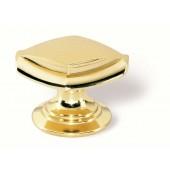 23-166 Siro Designs London - 34mm Knob in Bright/Brushed Brass
