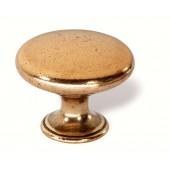 43-708 Siro Designs Nuevo Classico - 34mm Knob in Antique Gold