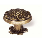 59-120 Siro Designs Evangeline - 40mm Knob in Antique Brass