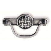 63-140 Siro Designs Ian Smith - 116mm Bail Pull in Bright Antique Silver