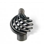 65-160 Siro Designs Provence - 34mm Knob in Antique Iron