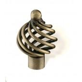 65-162 Siro Designs Provence - 34mm Knob in Antique Brass