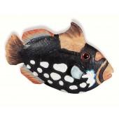 67-114 Siro Designs Caribe - 61mm Knob in Black/White Speckles