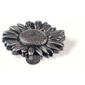 78-102 Siro Designs Edelweiss - 47mm Knob in Antique Tin