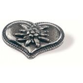 78-110 Siro Designs Edelweiss - 52mm Knob in Antique Tin