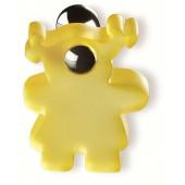 80-100 Siro Designs Fantasia - 50mm Knob in Yellow/Bright Chrome
