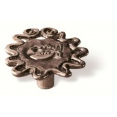 83-180 Siro Designs Big Bang - 50mm Knob in Antique Copper