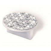 90-164 Siro Designs Mosaic - 50mm Pull in Matte Chrome