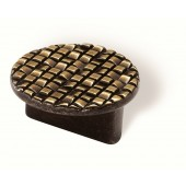 90-166 Siro Designs Mosaic - 50mm Pull in Antique Brass