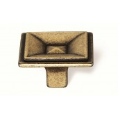 93-150 Siro Designs Toskana - 35mm Knob in Antique Brass