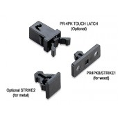 PR4PKB/STRIKE1 Non-Magnetic Mini Touch Latch (Strike for Wood)