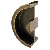DSI-3250-45-AB Stainless Steel Sliding Door Handle & Pocket Door Edge Pull